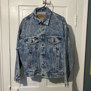 Vintage Levi's denim jacket men's medium